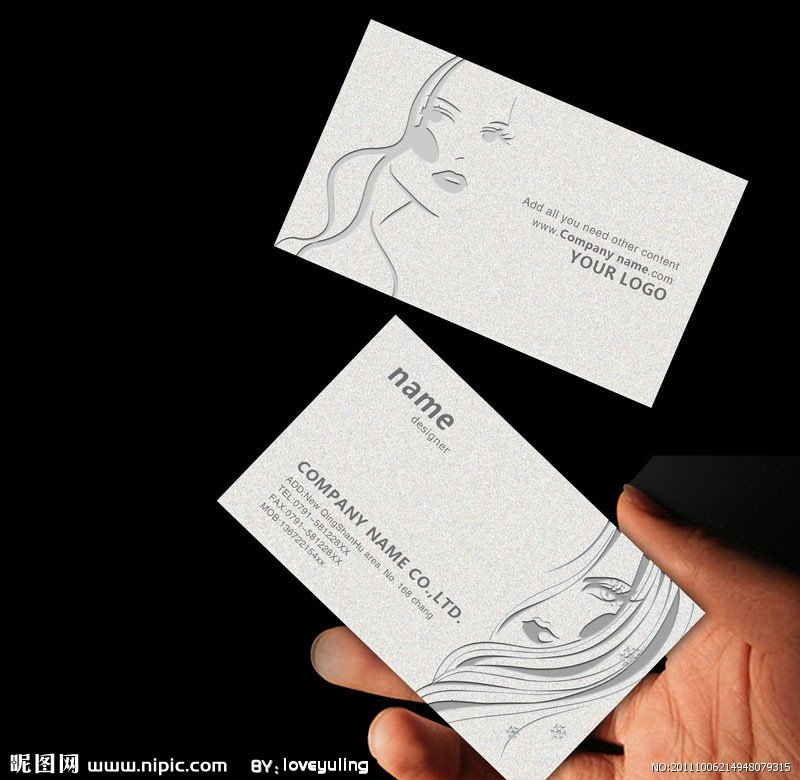 350gsm laminated art paper business cards +free shipping-in ...