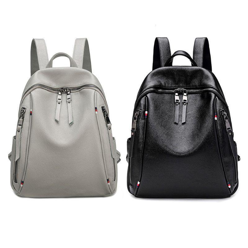 Fashion Womens Backpack Travel Leather Rucksack Shoulder School Bag DaypackFashion Womens Backpack Travel Leather Rucksack Shoulder School Bag Daypack