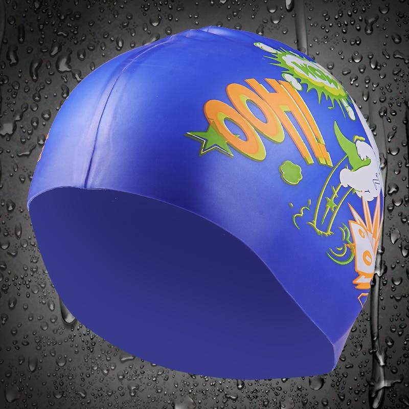 Zoke 2017 Waterproof swimming cap to protect the ears long hair swimming pool sports cap