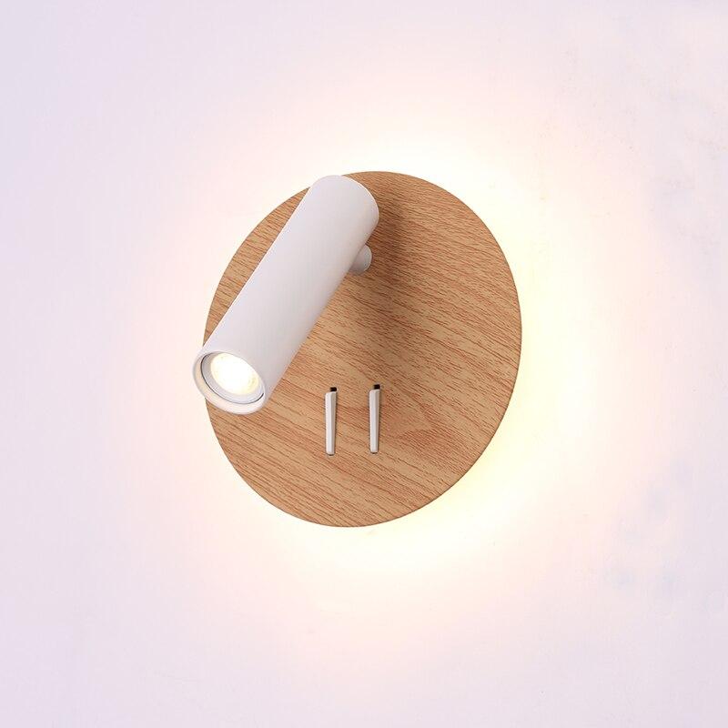 ZEROUNO Matte White Led Book Lights Eye Protection Soft Light Bedroom Lights AC 90 260V Max 8W Cree Chip Led Lighting Bulbs