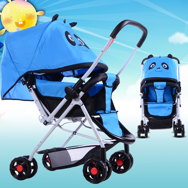 Portable baby car can sit, lie, fold baby cart and cute baby car new product (Dong Xia) dual purpose наручные часы romanson tm0337mj wh