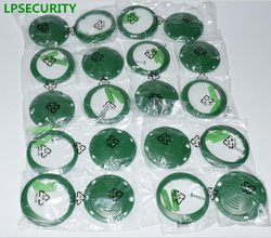 LPSECURITY 10 pcs por pacote check point tags COIN para o sistema da excursão do protetor de patrulha/tag RFID para o sistema de patrulha