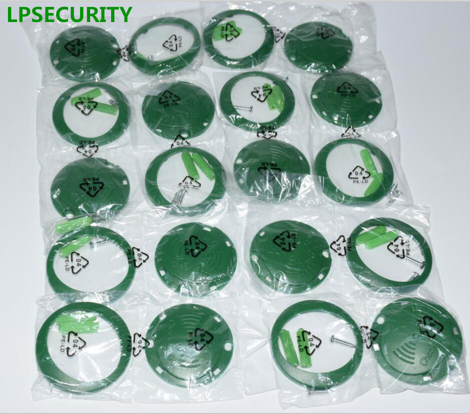 LPSECURITY 10pcs per pack check point tags COIN for patrol guard tour system/RFID tag for patrol system 10pcs sample 125khz rfid abs waterproof patrol button id patrol point