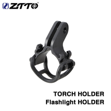 Bicycle Light TORCH Holder Flashlight Bracket for Road Bike MTB adjusted for GoPro