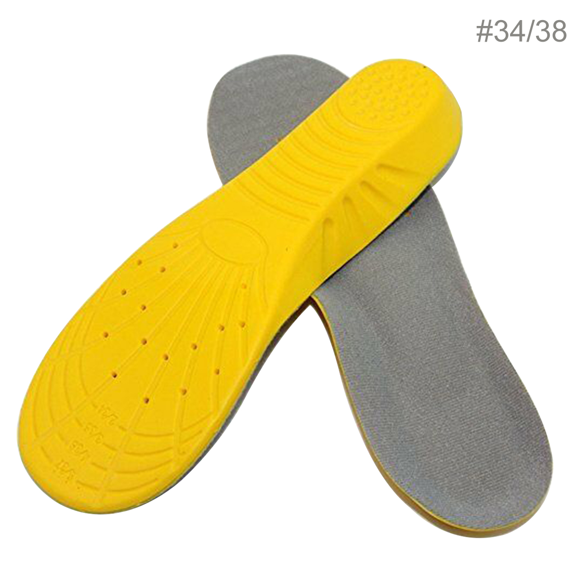 1 Pair Stretch Breathable Deodorant Running Cushion Insoles For Feet Man Women Insoles For Shoes Sole Orthopedic Pad