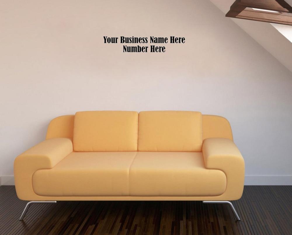Aliexpresscom  Buy Custom Business Name Wall Decals Vinyl - Custom vinyl decals quotes   beginning business
