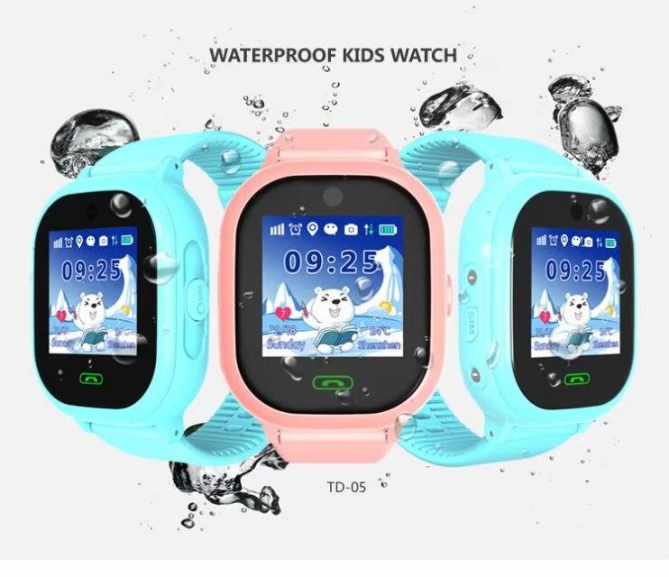 Kids Watch GPS Tracker Smart Watches SOS Call Voice Chat IP67 Waterproof GPS LBS Wearable clock children