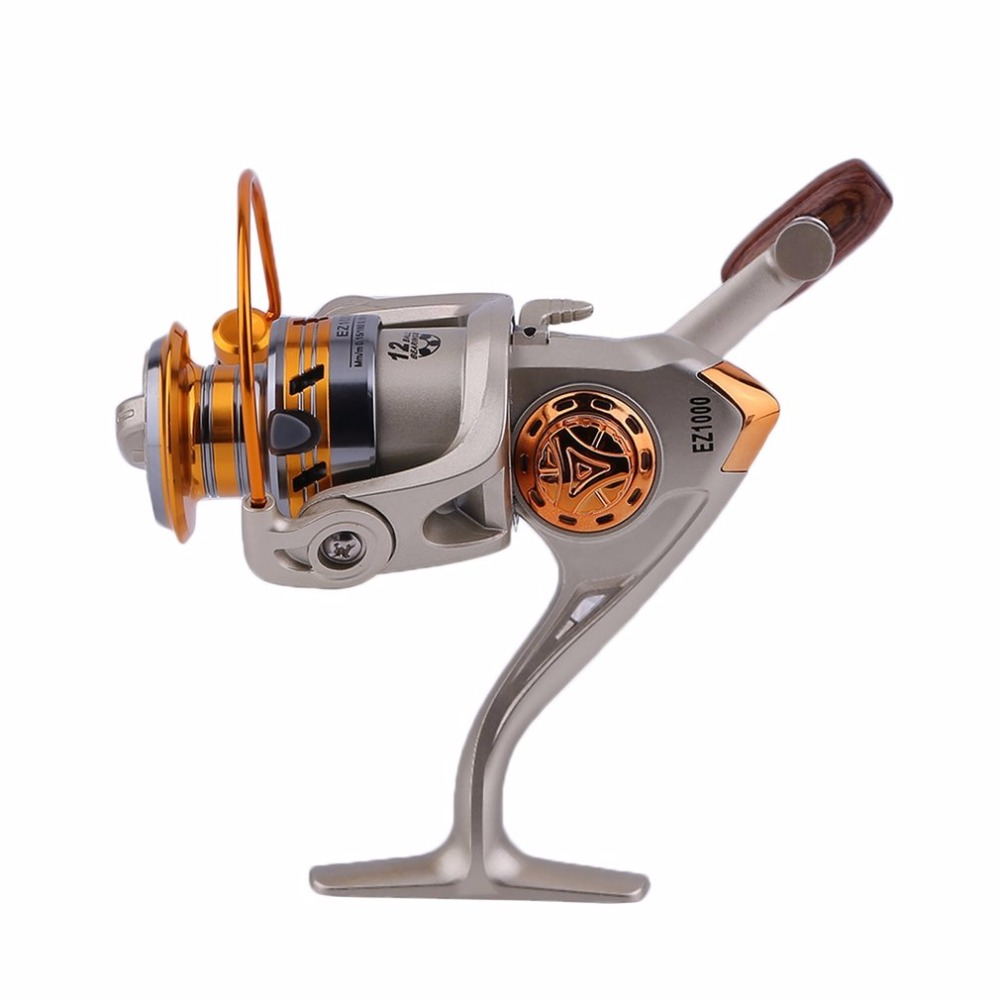 High Speed G ratio 5 5 1 Spinning Reel 10BB Ball Bearing Fishing Reels GH 1000