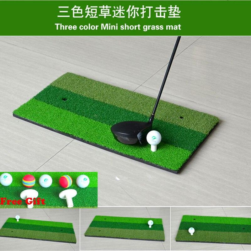 60x30 cm Mini 3 Color Hierba Patio Trasero Estera de Golf Golf Residencial forma