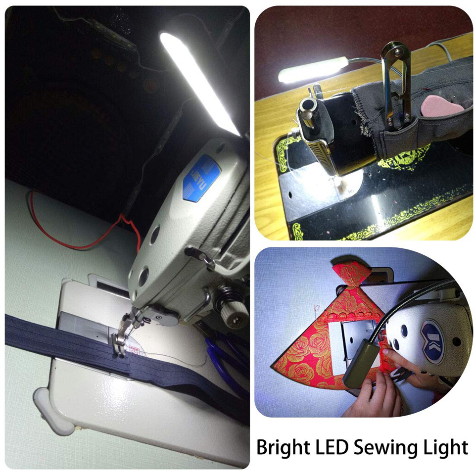 Industrial Lighting Sewing Machine LED Lights Multifunctional Flexible Work Lamp Magnetic Sewing light for Drill Press Lathe in Industrial Lighting from Lights Lighting