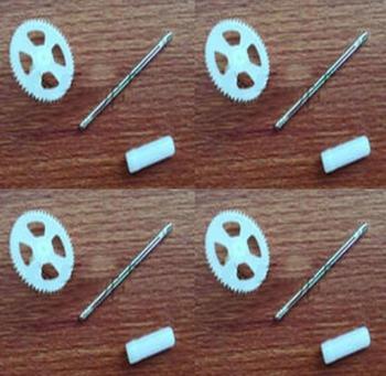 MJX X708 X708W recambios de cuadrirrotor RC gran conjunto de engranajes (Unidad Asamblea) 4 unids/set