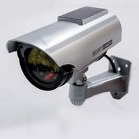 New Solar Power Dummy CCTV Camera Fake Camera Monitor Waterproof Outdoor Surveillance CCTV Camera