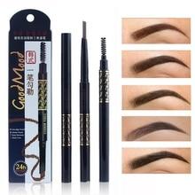 1PC Natural Makeup Eyebrow Enhancer Pencil Automatically eyebrow pencil 5 Color Long-lasting Waterproof 1pc pentel mechanical pencil graphgear japan original 0 3 0 5 0 7 0 9mm pg513