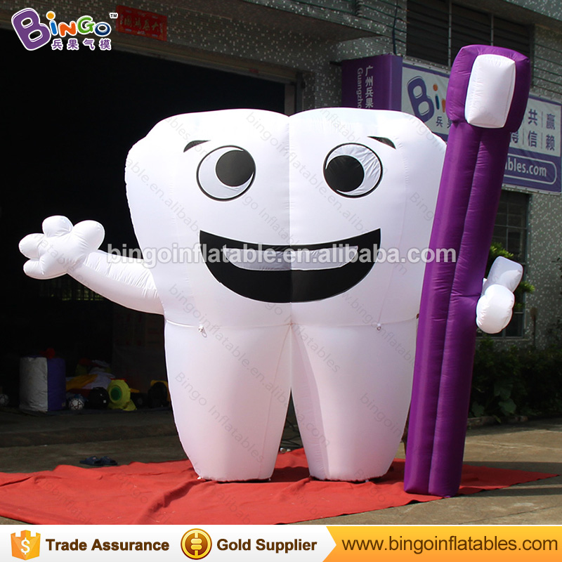 Customized 3 meters height inflatable tooth, inflatable dental model, dental teeth model, giant inflatable teeth - toyCustomized 3 meters height inflatable tooth, inflatable dental model, dental teeth model, giant inflatable teeth - toy