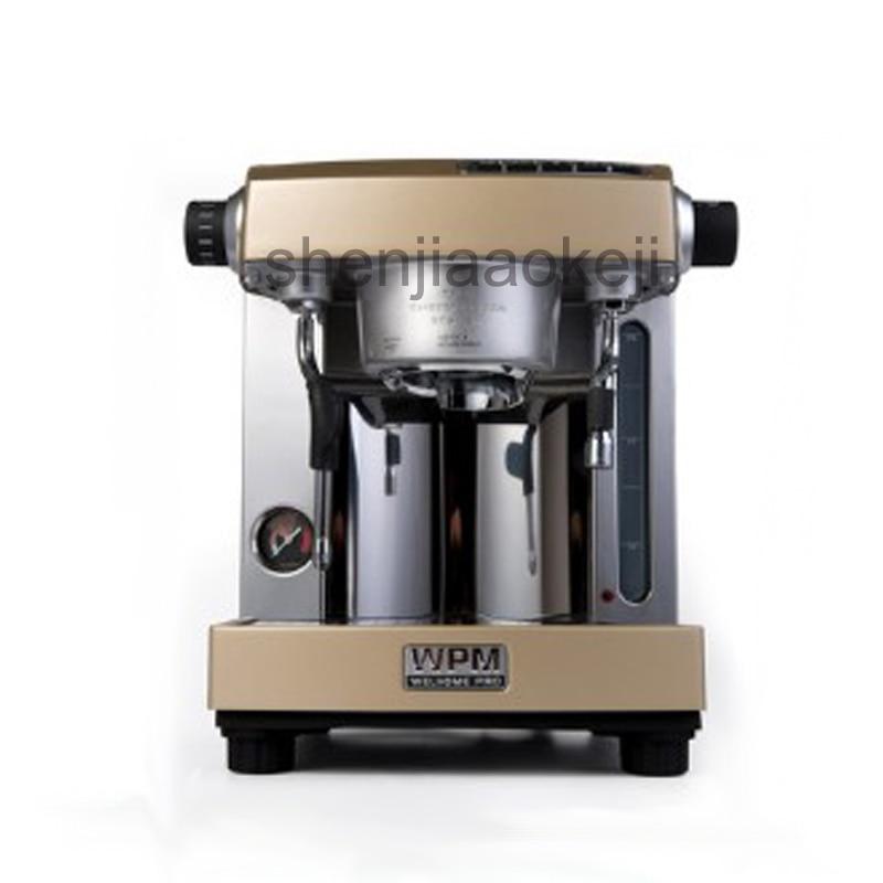 commercial semi automatic double pump Italian coffee machine home thermo block Professional espresso coffee machine 220v