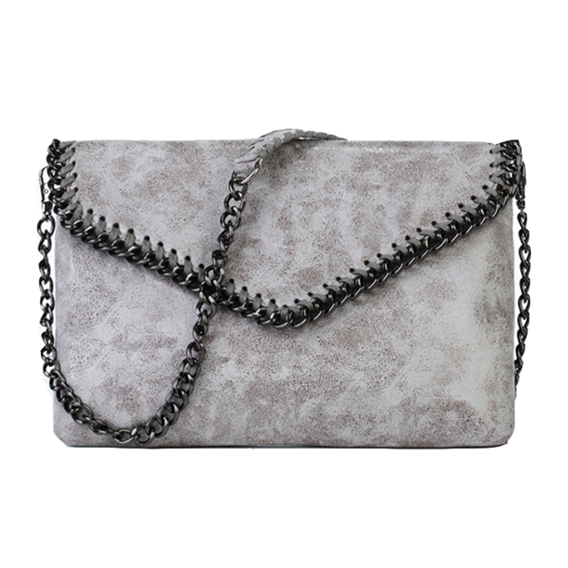 Newest Fashion Design Women Shoulder Bag High Grade PVC Crossbody Bag Chain Messenger Bag Famous Brand
