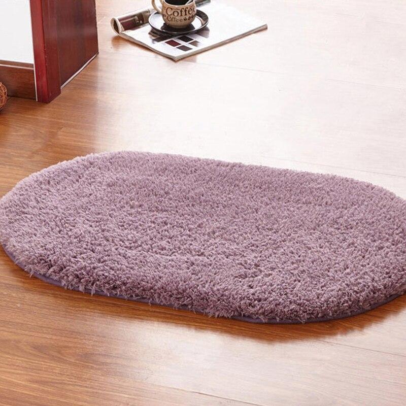 Vorzo quarto tapete oval sala de estar banho toalete douche tapete do banheiro cozinha badkamer acessórios tapetes badmat banqueiro