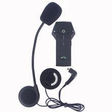 2017 New Version FM NFC function Multi BT Interphone Motorcycle Helmet Bluetooth Intercom Headset Stereo music