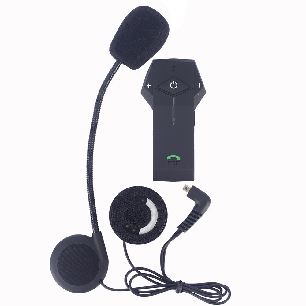 2017 New Version! FM NFC function! Multi BT Interphone Motorcycle Helmet Bluetooth Intercom Headset Stereo music