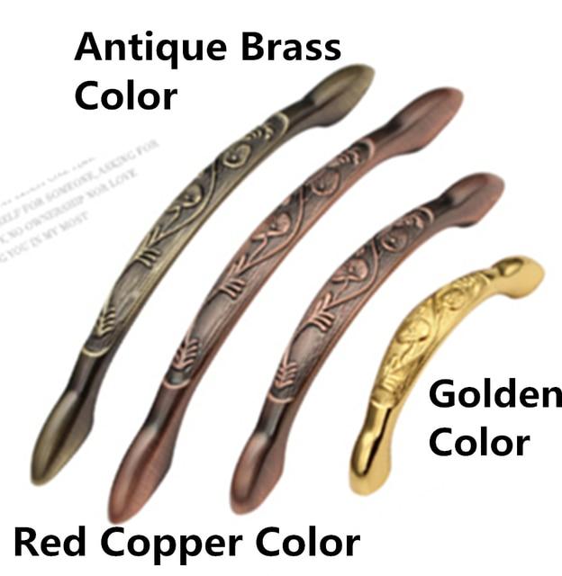 Agujero pitch 96mm/128mm color de oro/latón antiguo/cobre rojo ...