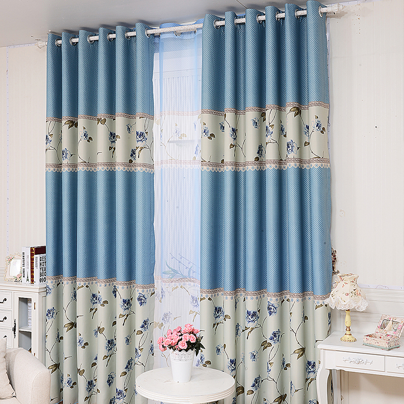 2015 Luxury Finished Modern Window Blackout Curtains For