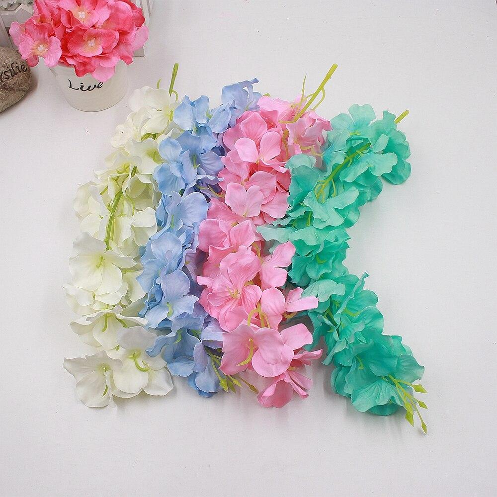 1pcs 30cm Hydrangea Artificial Flowers For Diy Wedding Home
