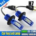 2 Unids H7 Canbus LED de Coches Niebla Linterna de la Luz 12 V-24 V Blanco Fresco SEL 12SMD LED Daytime Bombilla de La Lámpara de Luz de Conducción