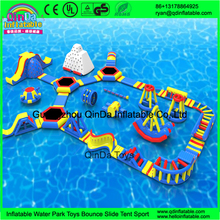 Inflatable Floating Water Sports Park For Water Games Water obstacle course