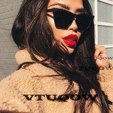 High Quality Cat Eye Sunglasses Women Brand Designer 2019 Cheap