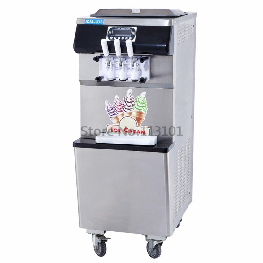 Frozen Yogurt Machine with Separate Hopper Refrigeration ...