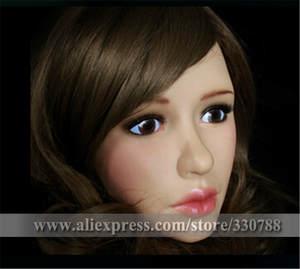 Half Face Silicone Female Mask
