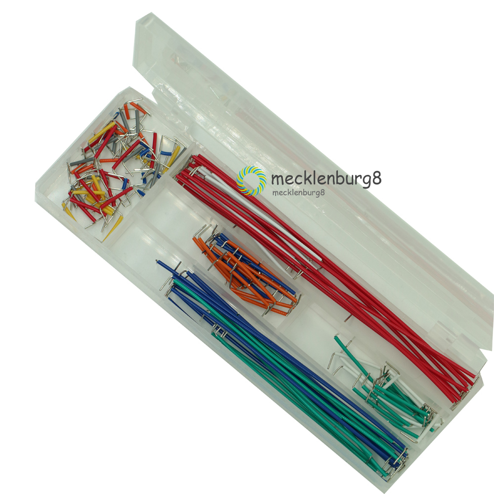 140Pcs/Lot U Shape Shield Solderless Breadboard Jumper Cable Wires Kit For Arduino Best Quality