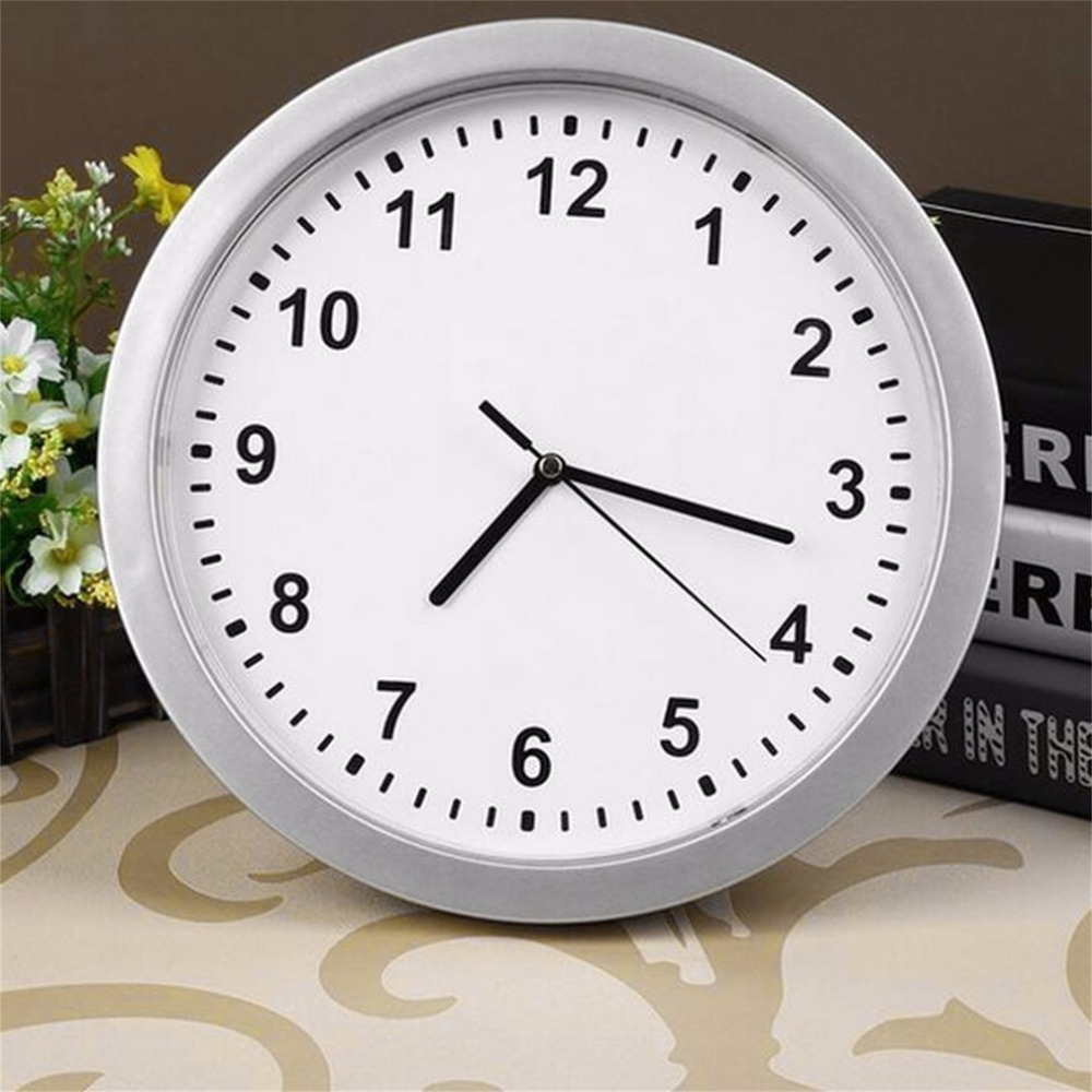 Secret Safe Creative Novelty Money Jewellery Storage Container Mechanical Storage Box Clock ABS Wall Clock Cash Safe Box