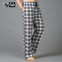 Plus Size Spring 100 Cotton Mens Pyjamas Bottoms Simple Pantalon Pyjamas Homme Sleep Lounge Pants For