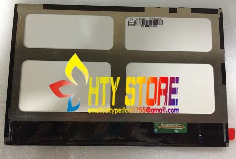 Original 10 1 inch 40 pin IPS LCD screen HJ101IA 01I fre shipping