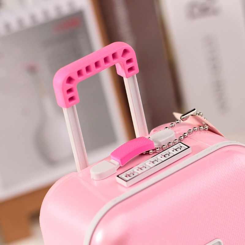 Batang Kasus bagasi Kotak Musik Balerina Menari Boneka Dekorasi Rumah Pribadi Ornamen Dekorasi Hadiah Mainan Untuk Bayi Perempuan