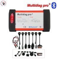 Universal Multidiag Pro+ Full 8 Car Cables VD TCS CDP PRO OBD2 Bluetooth Auto Scanner OBDII 2 Car Trucks Tester Diagnostic Tool
