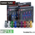 TANSKY -  D1spec JDM Billet Aluminum Wheel Racing Lug Nuts P:1.5, L:52mm 20pcs/set TK-650NUTS-L-1.5