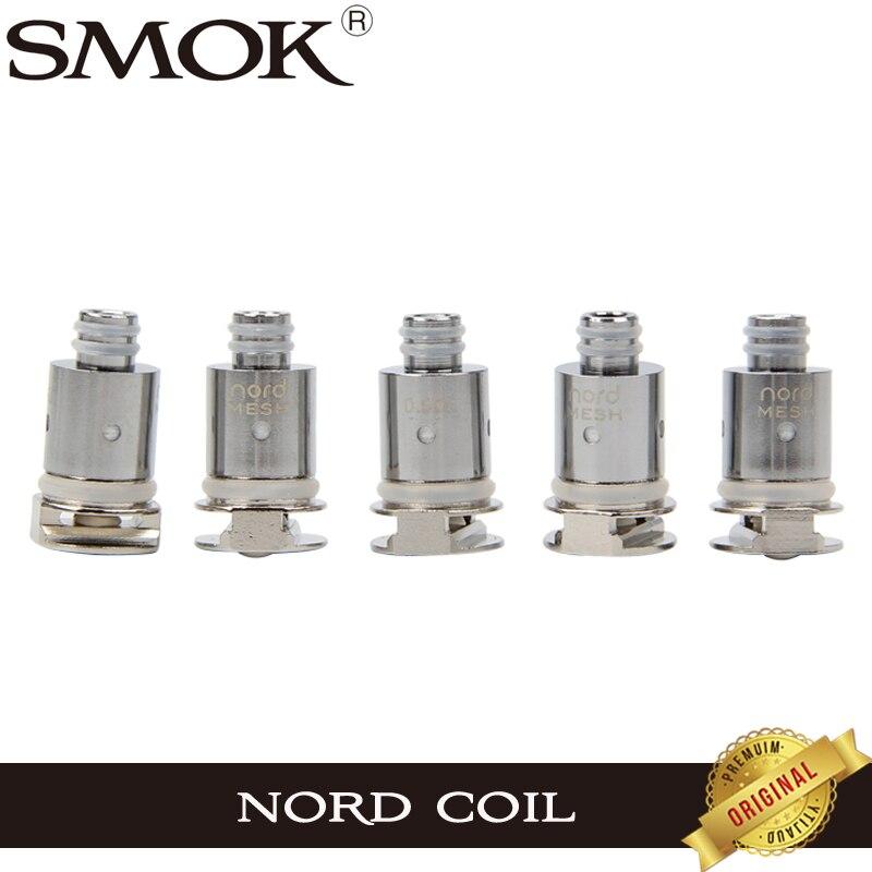 5PCs/lot Original Smok Nord Replacement Coil 1.4ohm mesh 0 ...