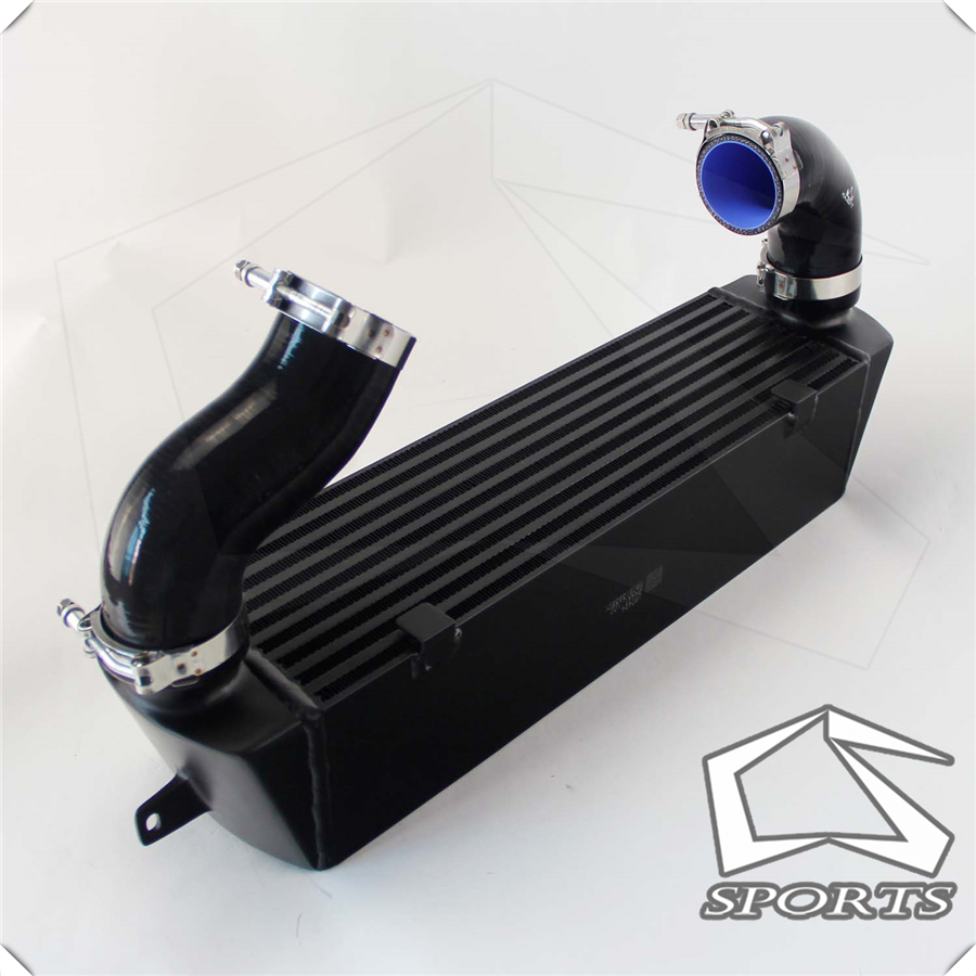 TWIN TURBO <font><b>INTERCOOLER</b></font> KIT Black Fits for B*MW 135 135i 335 <font><b>335i</b></font> E90 E92 2006-2010 <font><b>N54</b></font> image