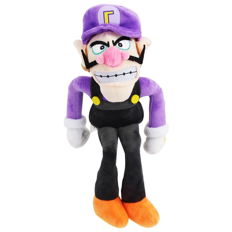 30cm Super Mario Bros Brothers Waluigi Purple Color Peluche
