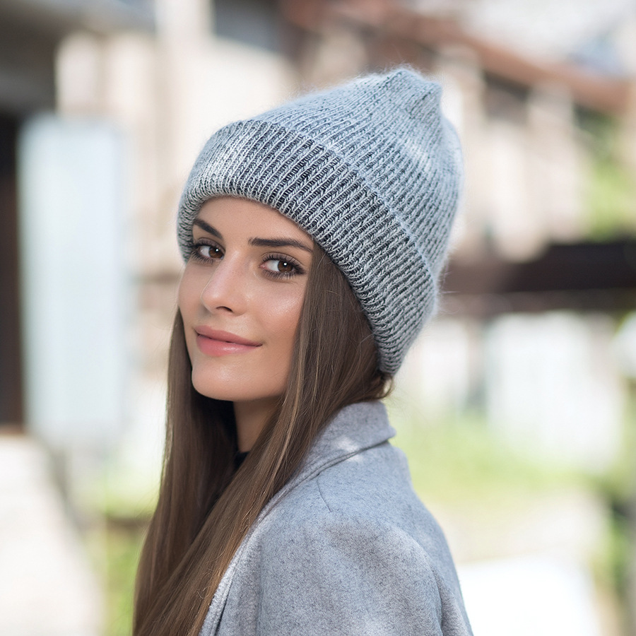 2017 New Autumn Winter Beanies Hats For Women Knitting Warm Wool Skullies Caps Ladise Hat Pompom Gorros (11)