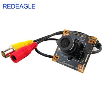 REDEAGLE 700TVL Color CMOS Analog Camera Module CCTV Security with 3.6MM HD Lens - discount item  34% OFF Video Surveillance