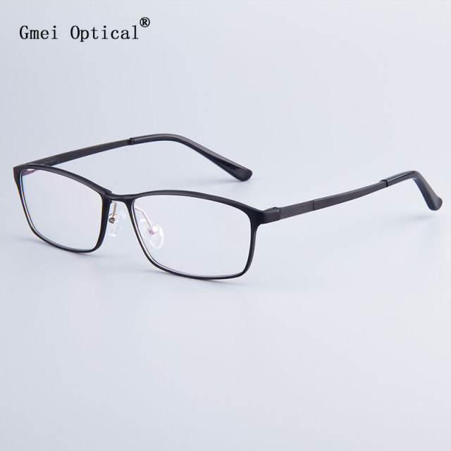7a27090f14 Fashion Brand Designer Business Men Frame Full-Rim Eyeglasses Frames Women  Hydronalium Glasses Frames With