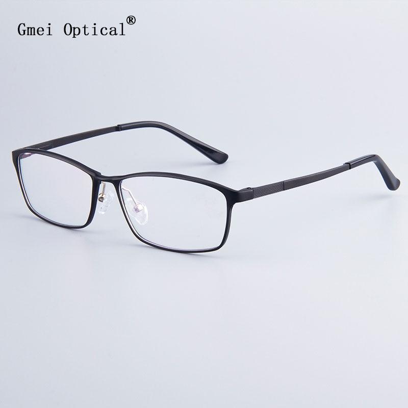 Marca de moda Homens De Negócios Designer Full Frame-Rim Armações de Óculos  Com Dobradiça f2ad111bdd