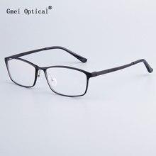 ファッションブランドデザイナービジネスメンズフレームフルリム眼鏡フレーム女性hydronaliumメガネはバネ蝶番足で