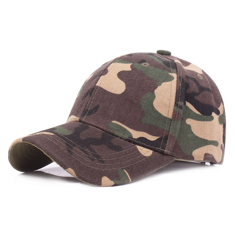 714772e9f39 Camouflage Summer Baseball Cap Unisex Camouflage Sun Hat Outdoor Sport  Jungle Visor Thin Breathable Adjustable 10pcs