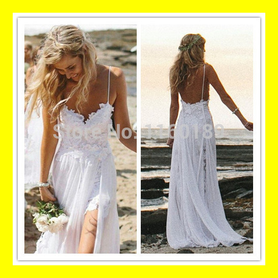 Ankle Length Wedding Dresses Linen Dress Short White Kids Tea Beach ...