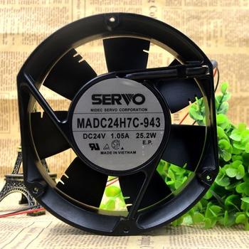 Original SERVO MADC24H7C-943 24V 1.05A 25.2W Wei Ken inverter dedicated cooling fan