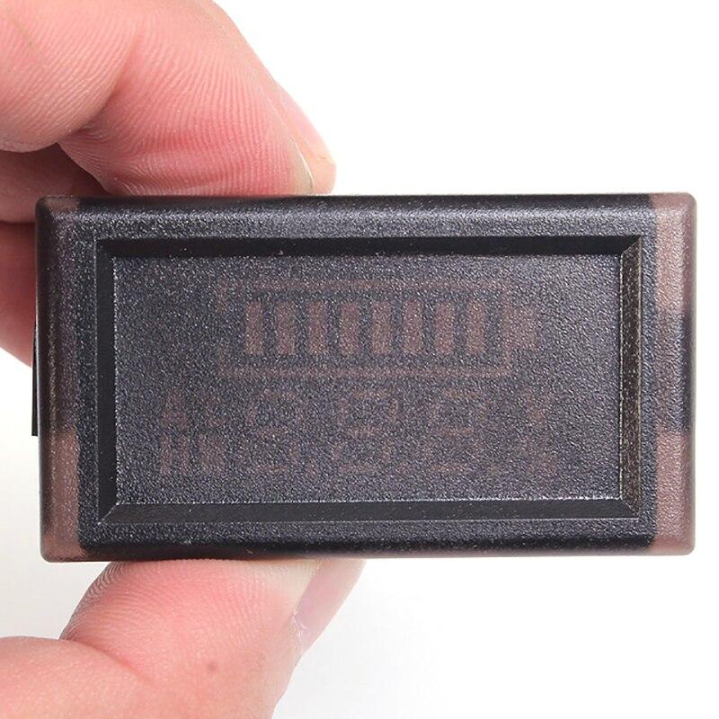 60 В Цифровой вольтметр Мощность индикатор для литий Батарея свинцово-кислотная Батарея ЖК-дисплей Батарея Тестер Цифровой вольтметр Напря…